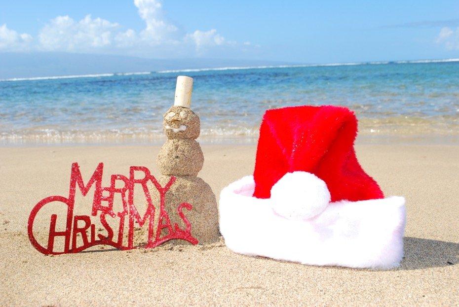 Santa Hat Maui - Jenn Findlay