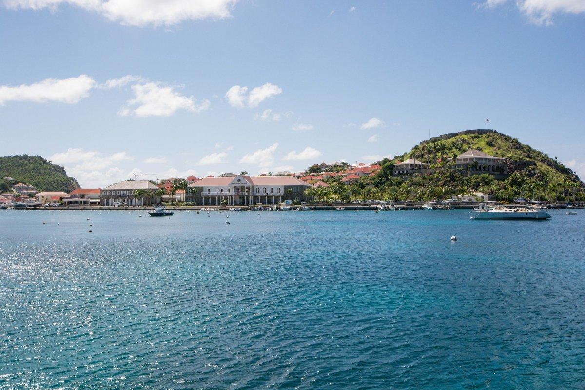 St. Barth - Gustavia Harbor - Shanon Arrival