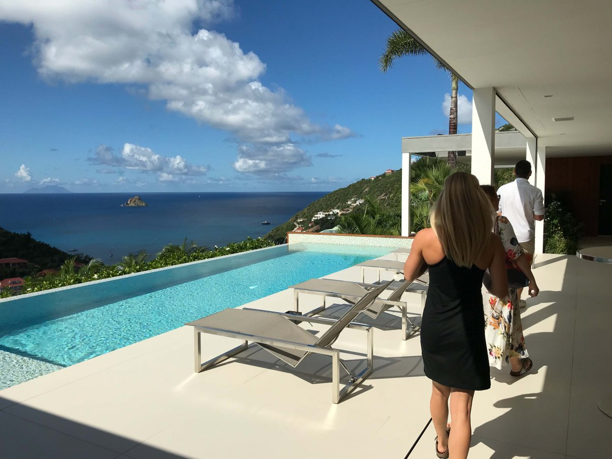 St. Bart's Executive Villa St. Barth - Exotic Estates - by John Di Rienzo