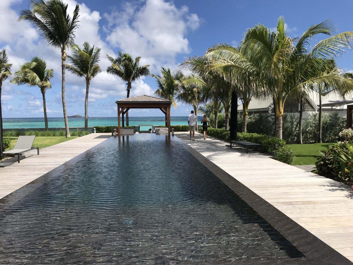 St. Jean St. Barts Beachfront Villa - Exotic Estates - John Di Rienzo
