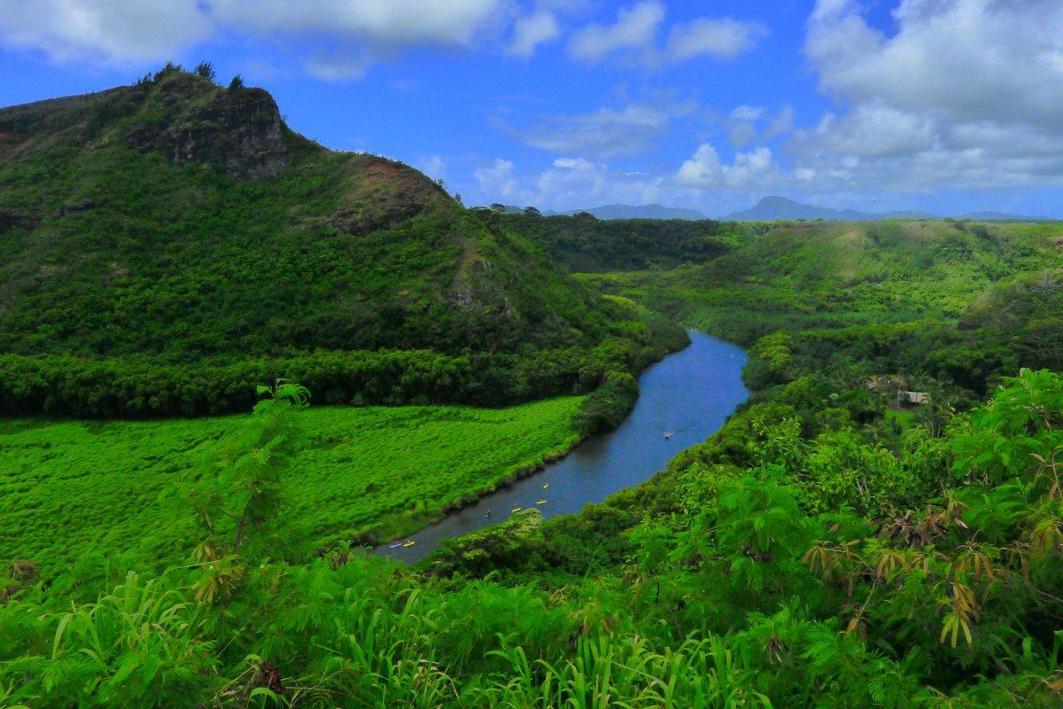 Wailua River Kauai
