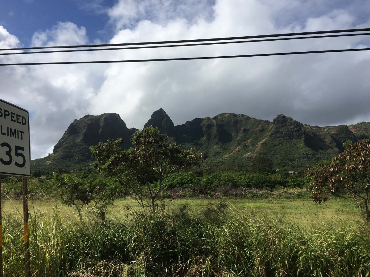 Kauai Sleeping Giant Mountain - John Di Rienzo