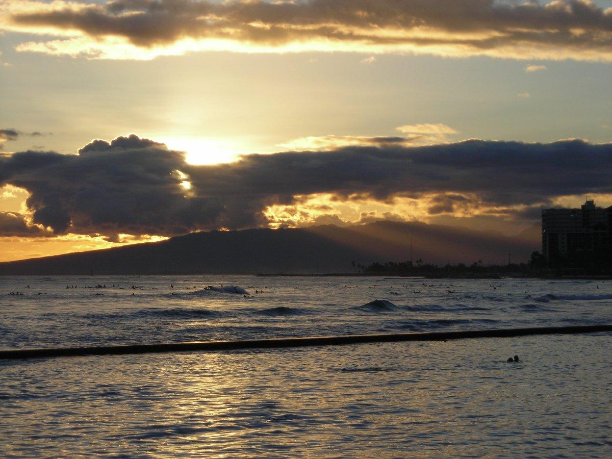 Waikiki Sunset John Di Rienzo