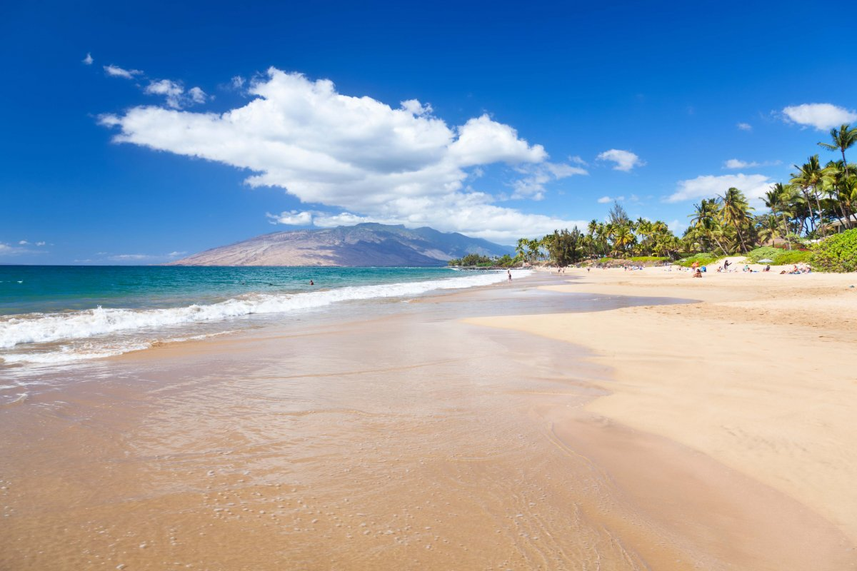 Kamaole Beaches in Kihei
