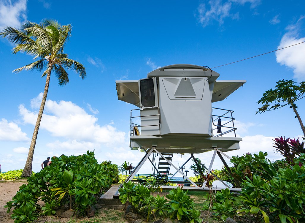 Lifeguard Tower Hawaii