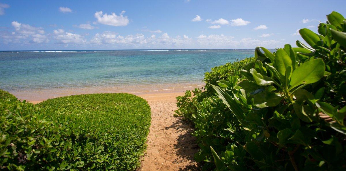 Anini Beach on Kauai