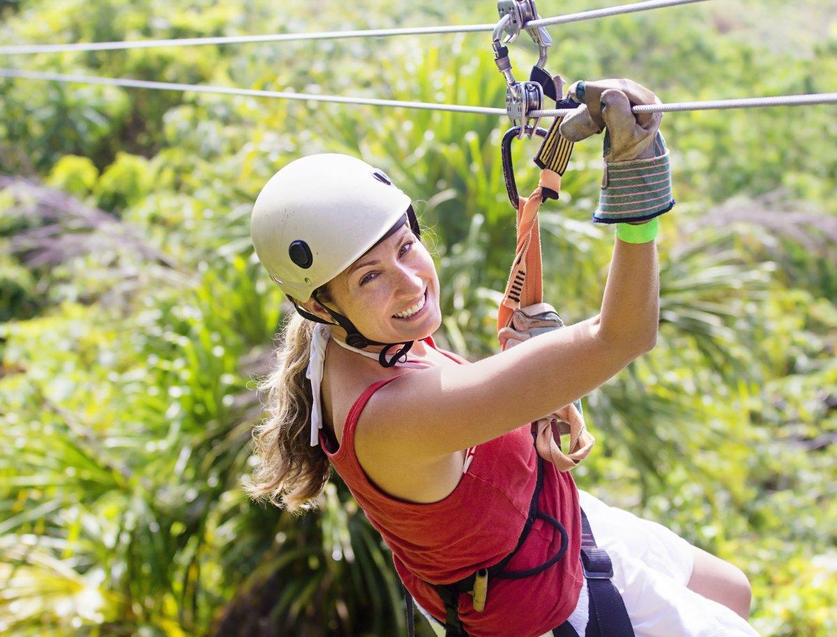 Kauai Ziplining