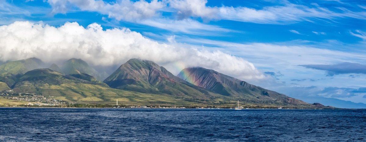 Beautiful West Maui Mountains