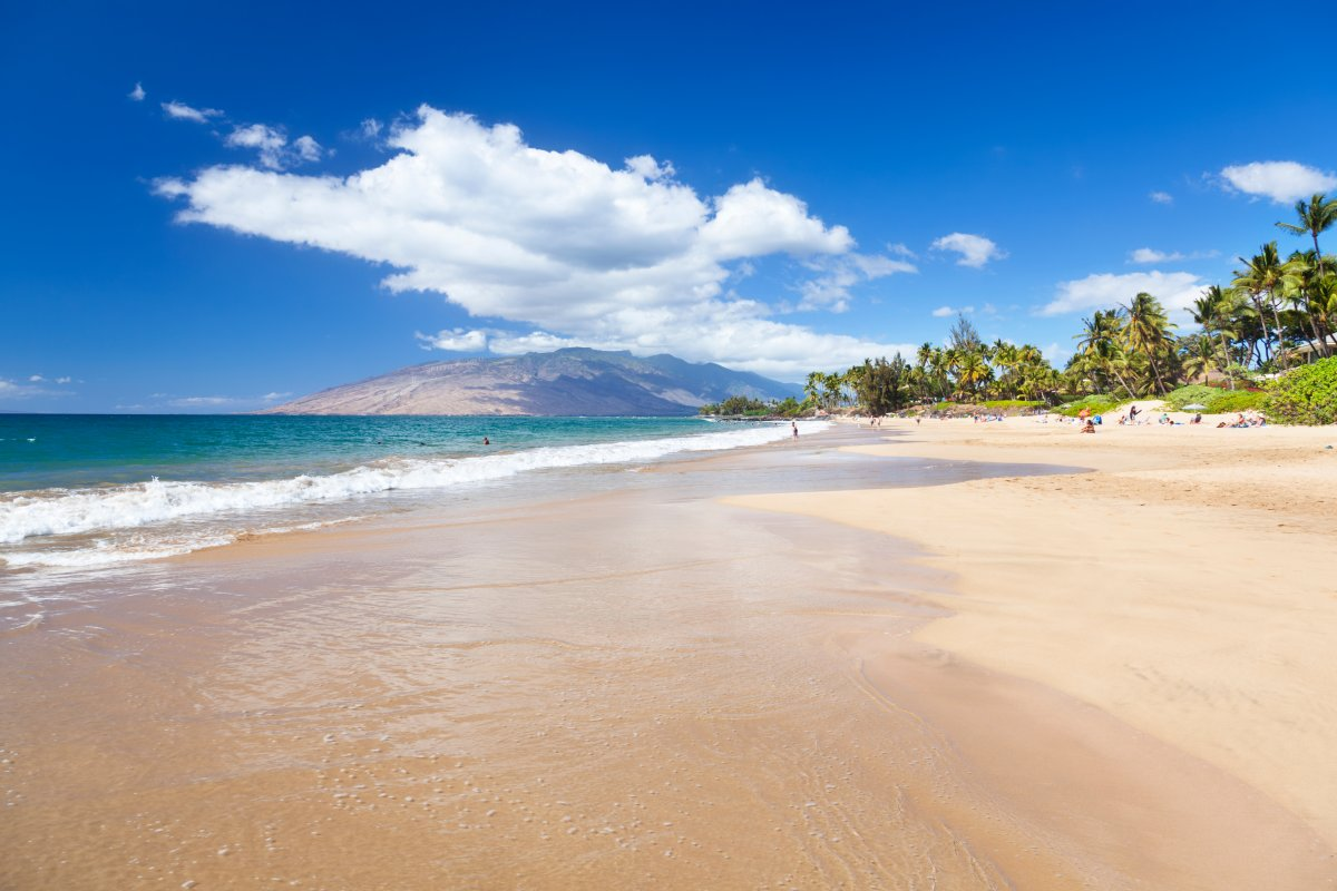 South Shore Beach on Maui