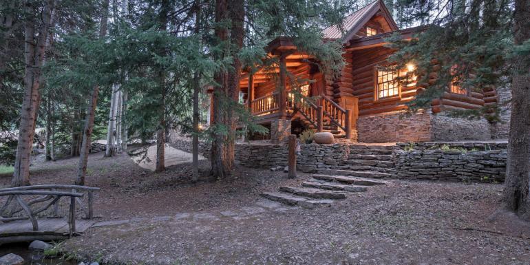 Telluride Yellow Brick Cabin Telluride Vacation Villa