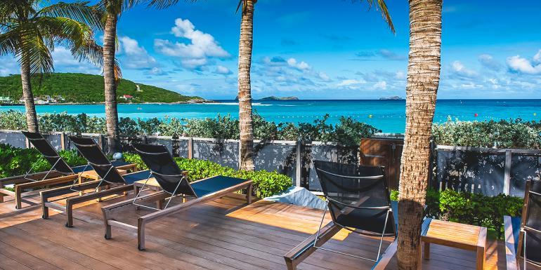 St. Barts Beachfront Villa