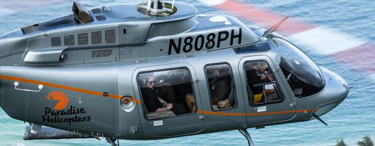 Paradise Helicopters Offers a Bird's-Eye View of Paradise