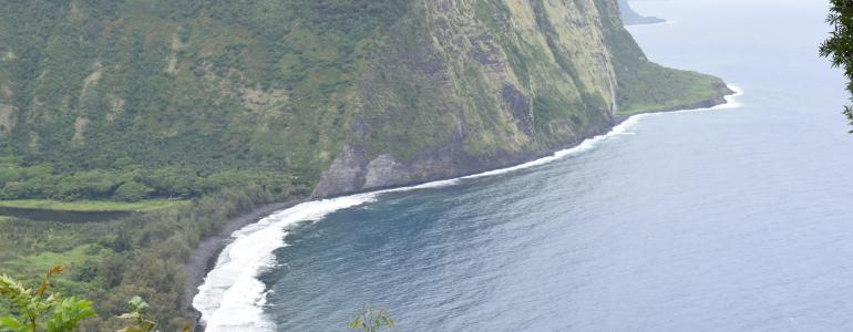 Visiting the Waipio Valley on the Big Island