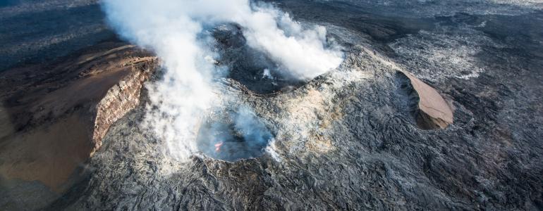 Hot Lava in Hawaii