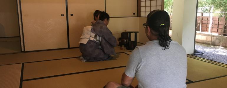 Japanese Tea Ceremony in Waikiki