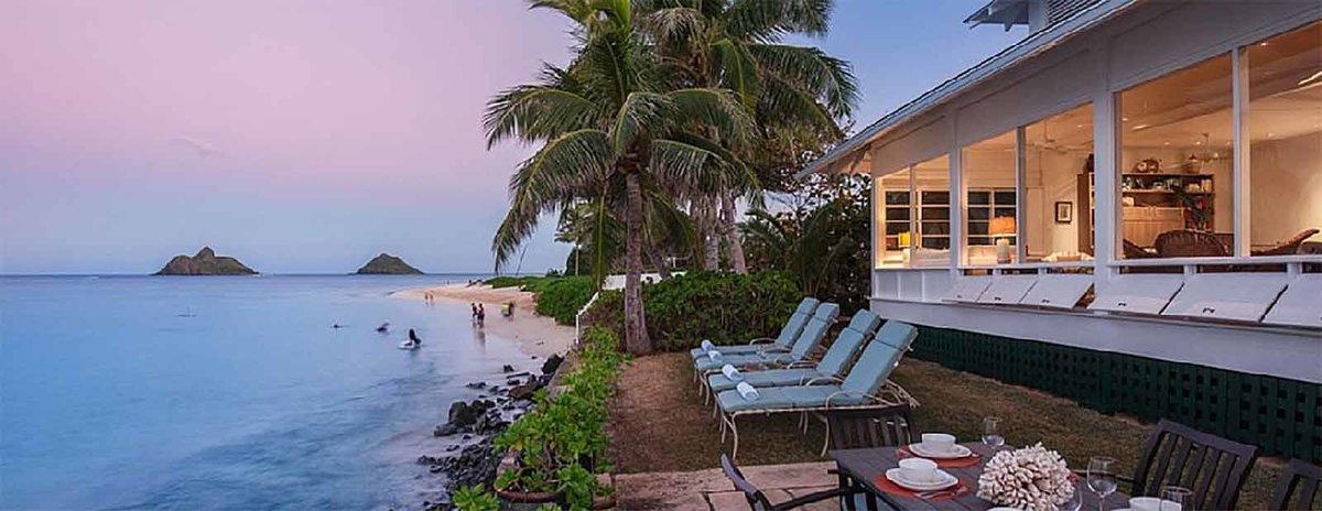 Kailu Beachfront Home