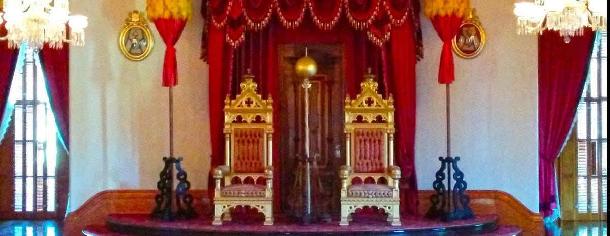 Iolani Palace Throne Room
