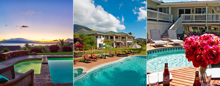 Exotic Estates Maui Vacation Rentals